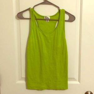 Lime green Lilly Pulitzer tank